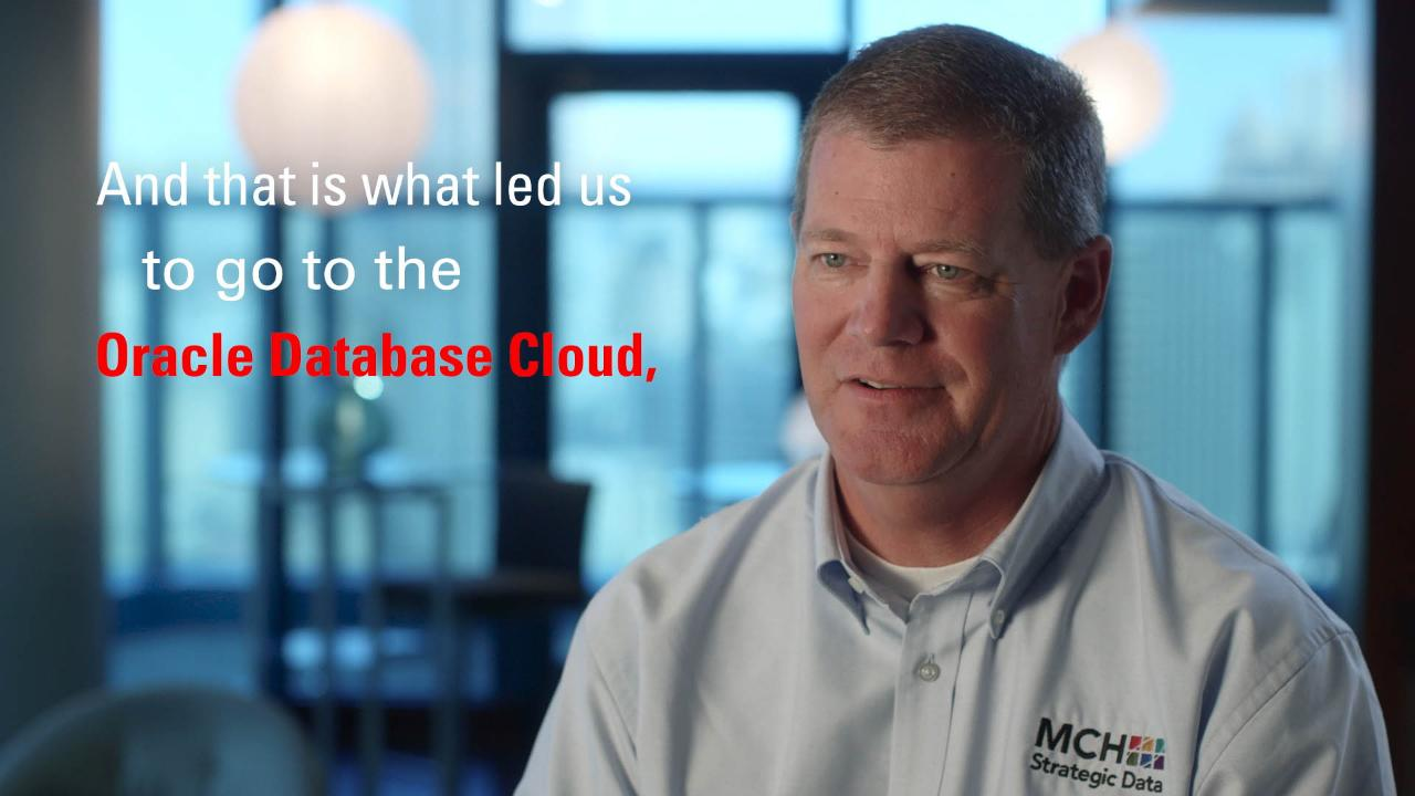 MCH Easily Moves Client Facing Systems to Oracle Cloud