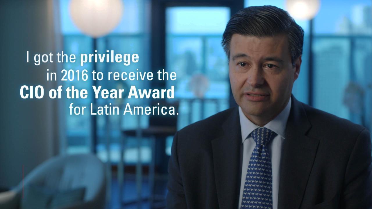 Ignacio Vera Wins CIO of the Year Award for Latin America