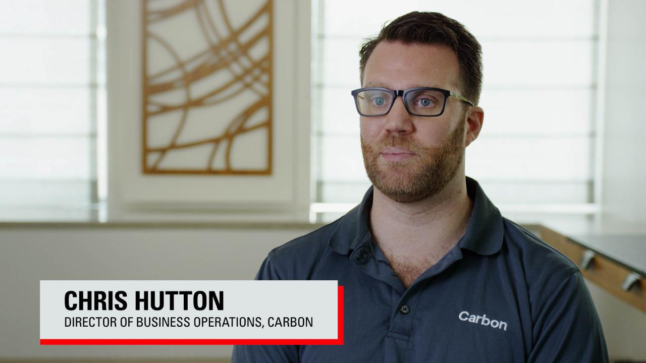 Oracle ERP Cloud Is as Agile as Carbon's Business