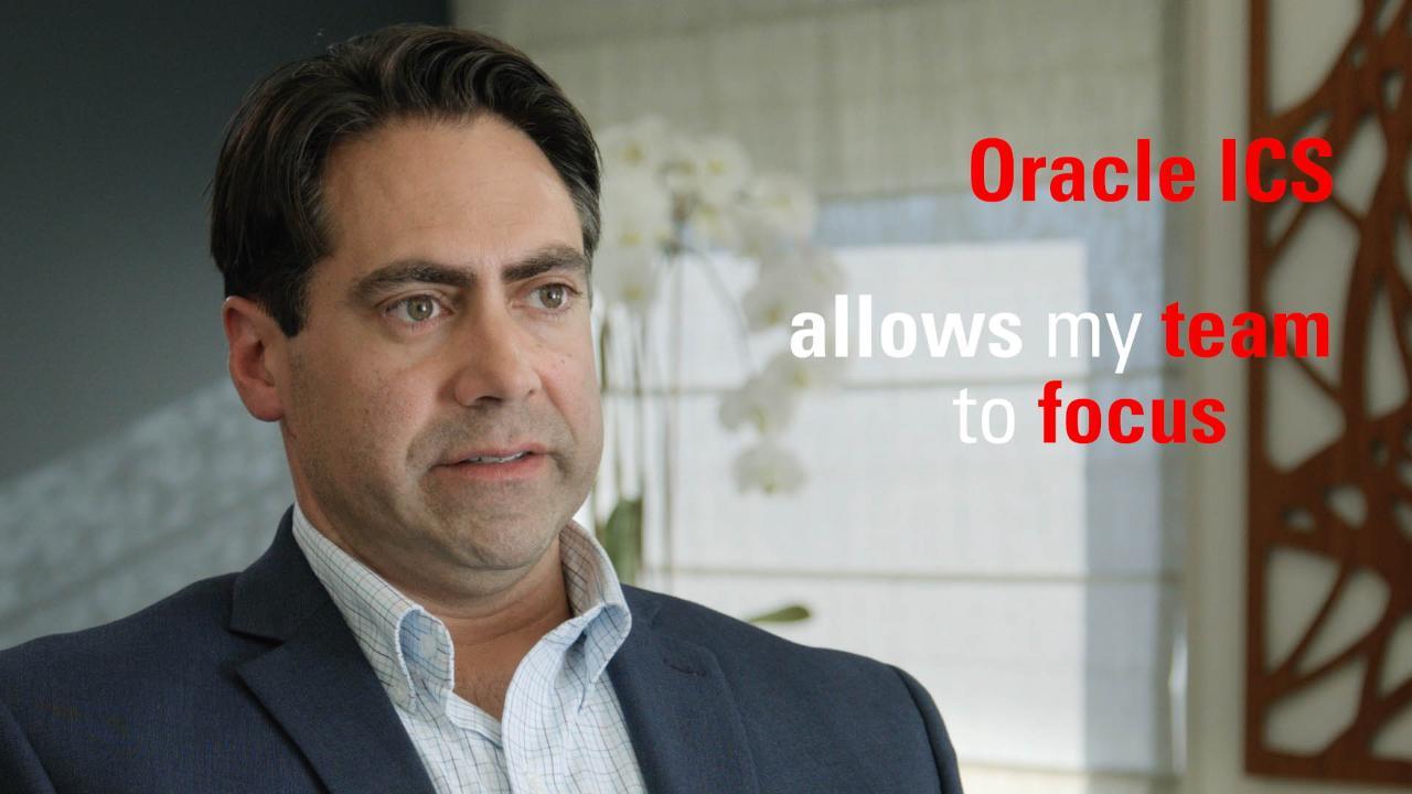 Oracle Integration Cloud Service - TGI Achieves Integration