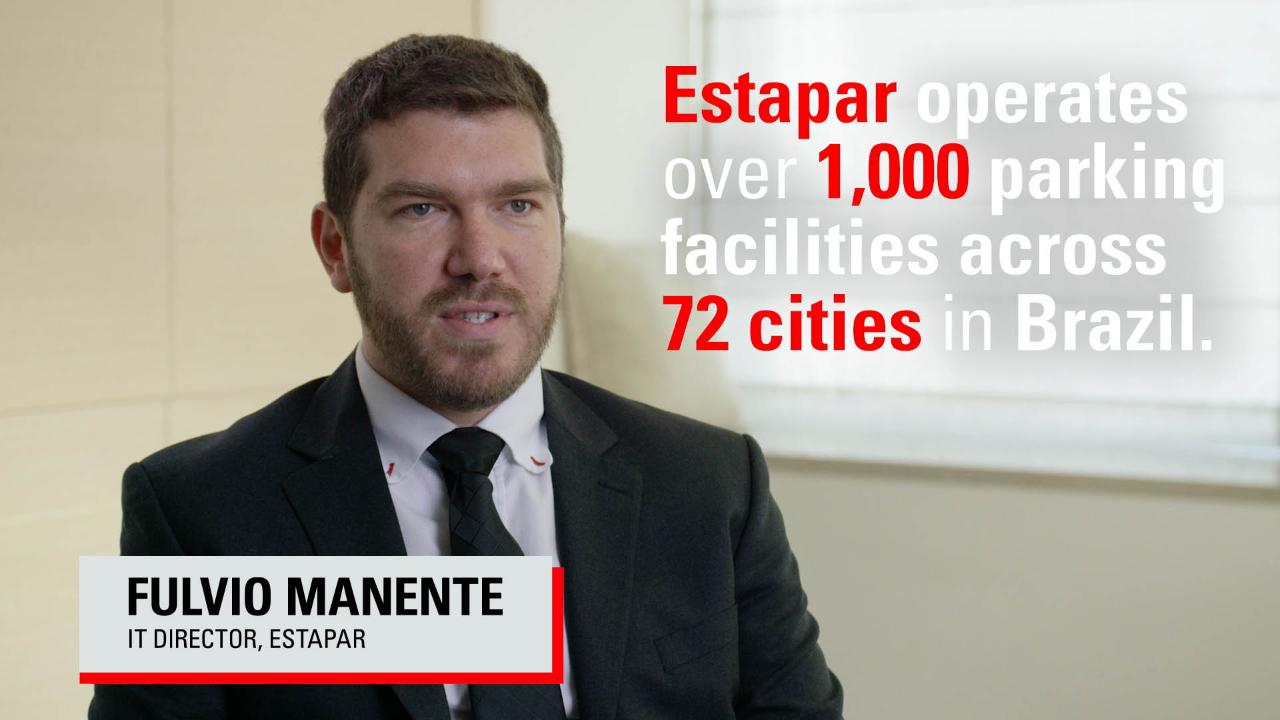 Estapar Live In 30 Days With Oracle Mobile Cloud Service