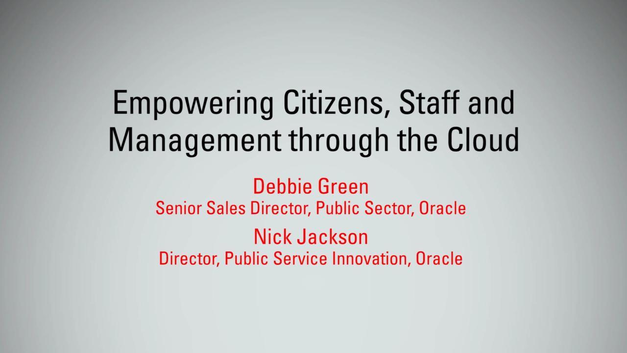 Empowering Citizens, Staff & Management through Cloud   MBX