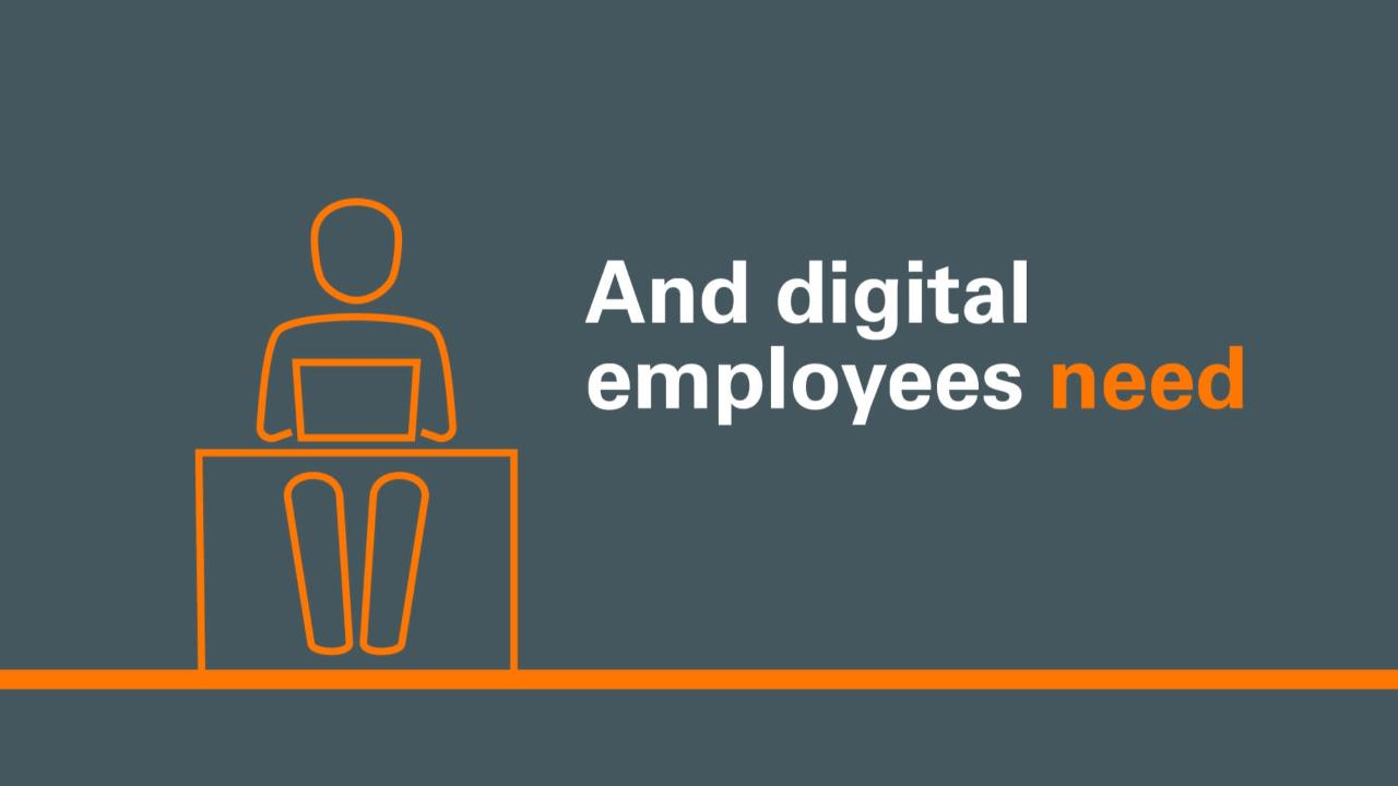 The Digital Employee and You