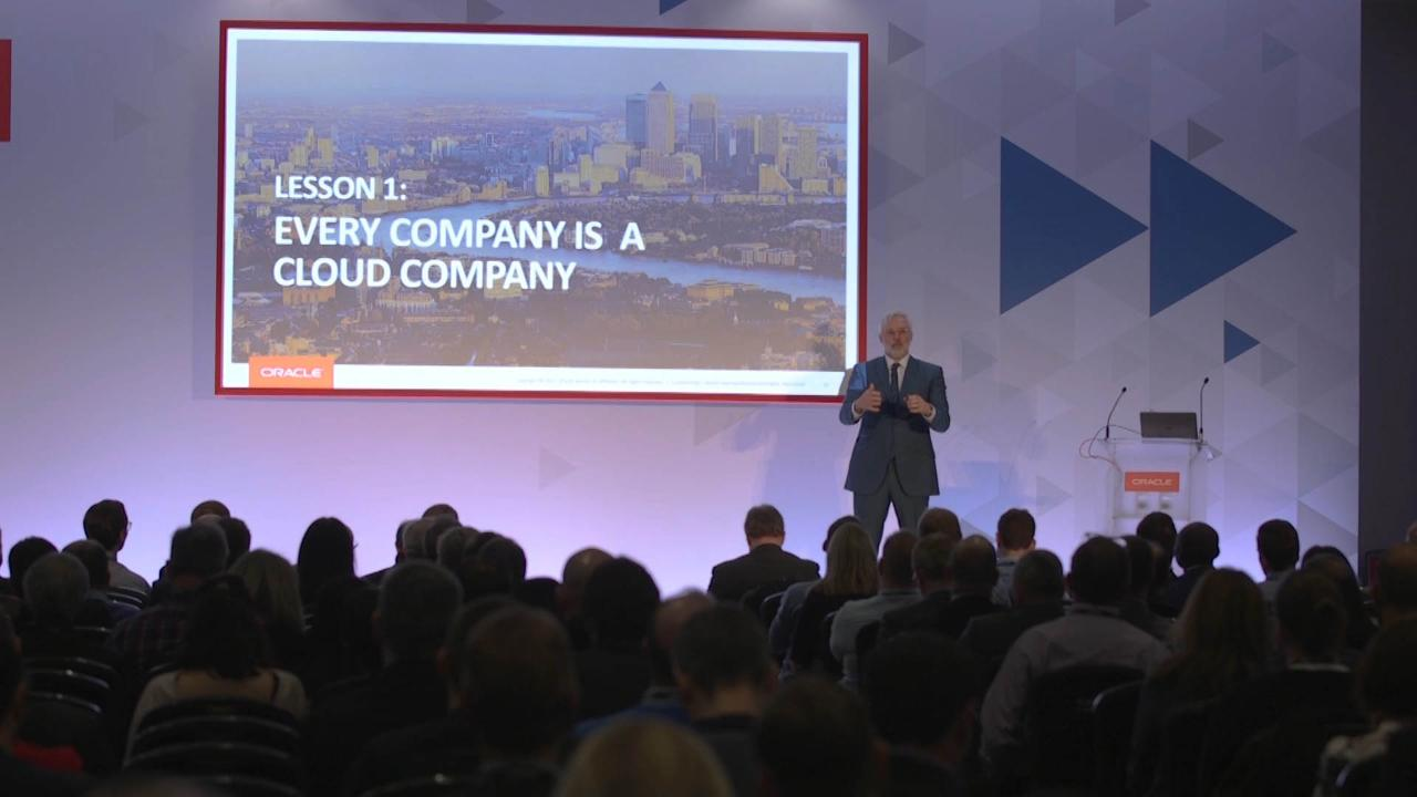 Five Rules from the Original Cloud Company