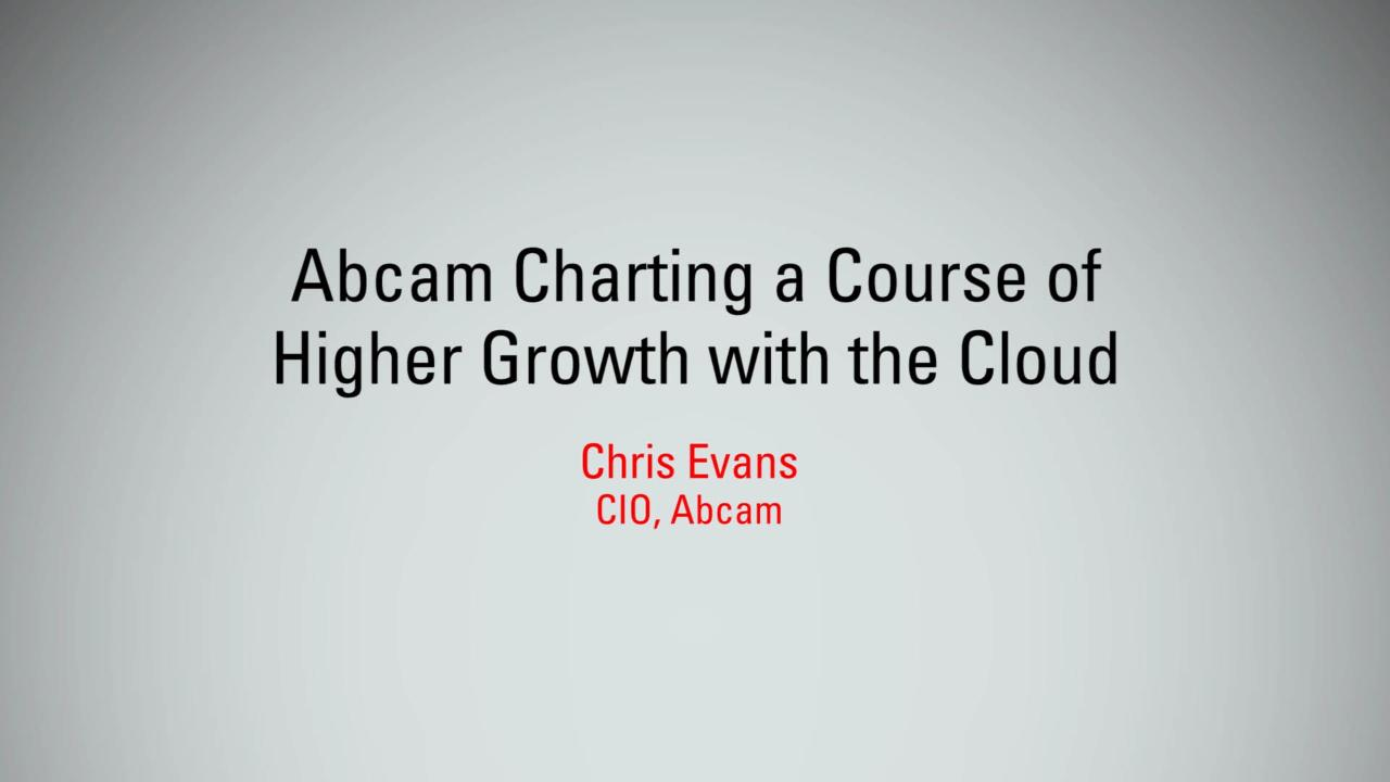 Abcam Charting a Course of Higher Growth with Cloud | MBX