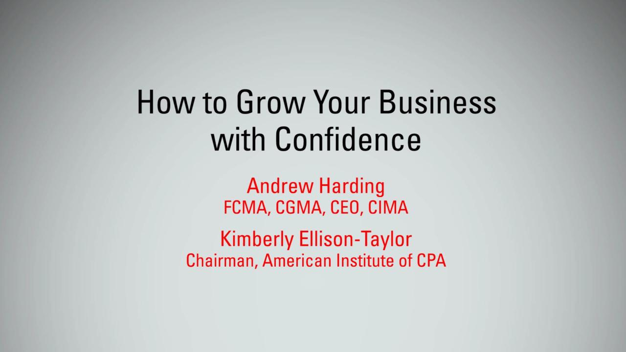 How to Grow Your Business with Confidence | MBX 2017