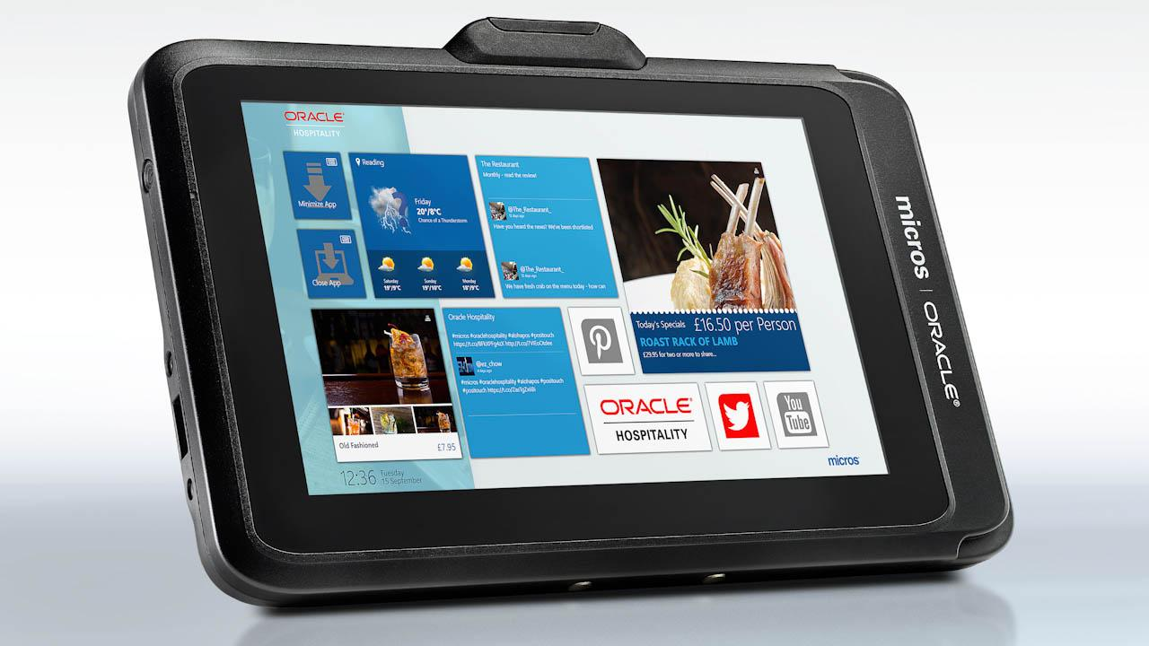Oracle Hospitality Offers Slick, Dynamic Workstations