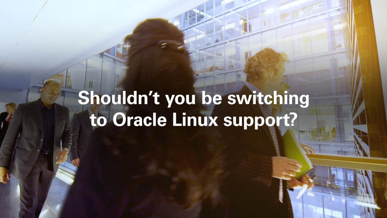 Oracle Linux Support