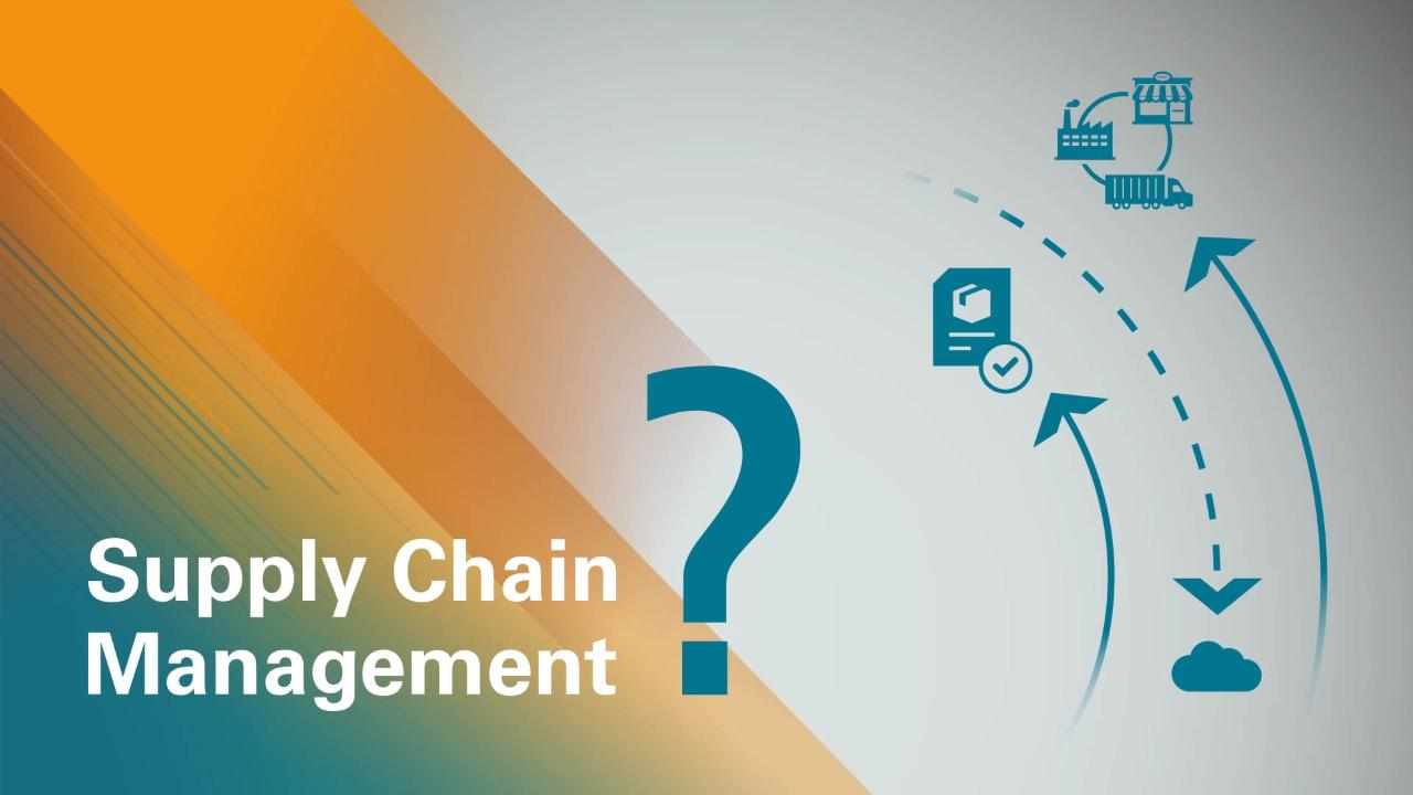 What Is a Supply Chain Management System? | Oracle